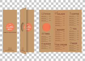 菜单餐厅酒店,怀旧菜单PNG剪贴画食谱,生日快乐矢量图像,菜单模板