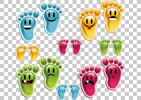 足迹版税,颜色脚印材料PNG剪贴画杂项,颜色飞溅,食品,摄影,彩色铅