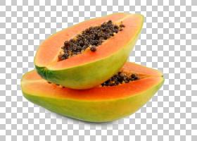 木瓜果子亚洲梨食物成熟,番木瓜PNG clipart热带水果,吃,青木瓜,