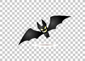 万圣节捣蛋,或者,治疗万圣节杰克,o,灯笼派对,蝙蝠PNG剪贴画哺乳