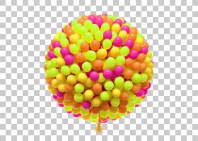 元旦圣诞节,红色和黄色气球串PNG剪贴画愿望,气球,新年,水果,节日