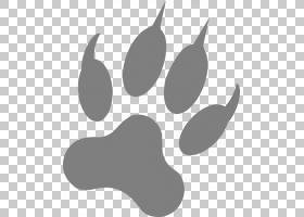 Dog Paw Footprint Claw,Wolf Art PNG剪贴画宠物,黑色,剪影,动物