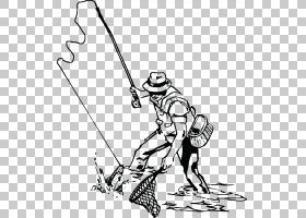 钓鱼竿渔夫飞钓,钓鱼PNG剪贴画角,白色,哺乳动物,手,脊椎动物,单图片