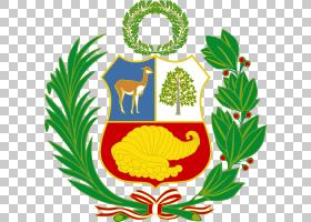 秘鲁的旗子秘鲁的国家标志秘鲁的徽章,月桂树PNG clipart杂项,会