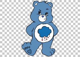 脾气暴躁的熊和谐熊啦啦熊护理熊,熊PNG剪贴画白色,哺乳动物,动物图片