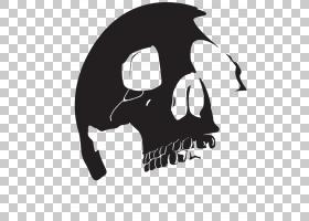 惩罚者Thunderbolt Ross Skull,头骨PNG剪贴画单色,虚构人物,人类