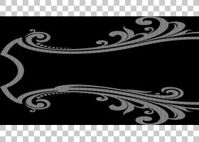 装饰装饰艺术框架,边框设计PNG剪贴画对称性,单色,黑色,区域,线艺