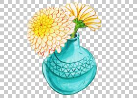 花瓶装饰艺术图标,花瓶PNG剪贴画花瓶,精美,花卉,封装PostScript,