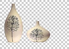 花瓶装饰艺术陶瓷,花瓶PNG剪贴画白色,花卉,时尚,花瓶,花艺,花卉,