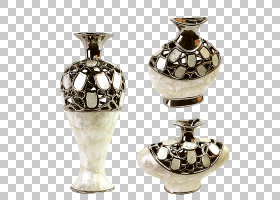 花瓶陶瓷装饰艺术,复古复古花瓶PNG剪贴画杂项,电视,玻璃,白色,花