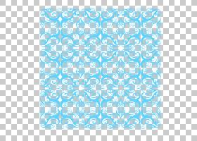 图案装饰艺术图案,复古装饰图案PNG剪贴画杂项,蓝色,矩形,纺织,蓝