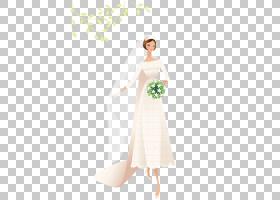 婚礼邀请新娘当代西方婚纱,新娘手捧花PNG剪贴画人民,婚礼,海报,图片