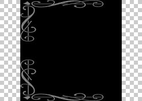 框架装饰艺术装饰,设计PNG剪贴画框,白色,家具,叶,文字,矩形,分支
