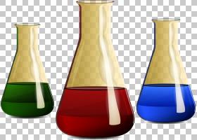 实验欧几里德瓶Vecteur,瓶实验PNG剪贴画玻璃,实验室,生日快乐矢