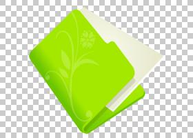 叶黄绿色,文件夹花绿色,绿色和白色文件图标PNG剪贴画蓝色,叶,矩