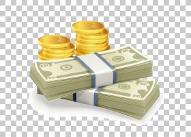 钱钞票皇族,绘图,美元PNG剪贴画保存,黄金,生日快乐矢量图像,免版