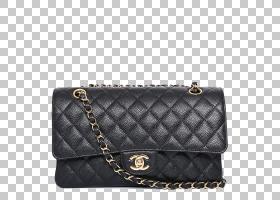 香奈儿2.55手提包皮革,CHANEL经典香奈儿绗缝链条包PNG剪贴画时尚