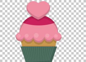冰淇淋情人节心蛋糕,婚礼海报甜点PNG剪贴画奶油,结婚周年纪念,食图片