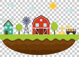 农业农业景观,农场模型PNG剪贴画名人,食品,汽车,房屋,生日快乐矢图片
