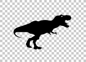 霸王龙恐龙三角龙梁龙,t雷克斯PNG剪贴画陆地动物,剪影,迅猛龙,三