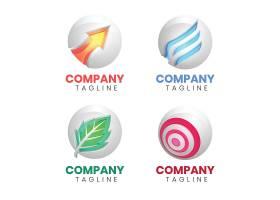 创意扁平化个性logo商业企业矢量图标logo
