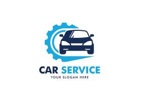 创意扁平化汽车个性logo商业企业矢量图标logo