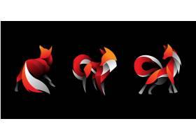 创意扁平化动物logo商业企业矢量图标logo