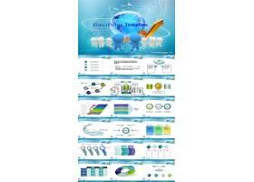 团队合作对外贸易ppt设计科技ppt模板