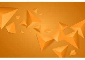 明亮的背景和三角形图形矢量背景