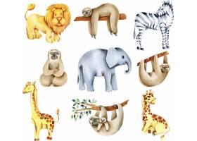 英文字母动物i