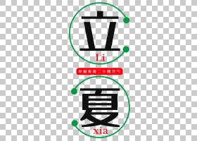 中国传统二十四节气立夏PNG素材