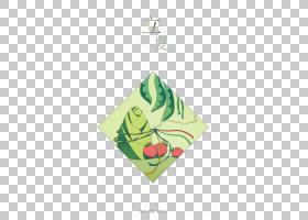 粽子草莓背景立夏PNG素材