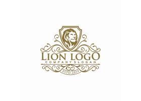 创意狮子logo设计