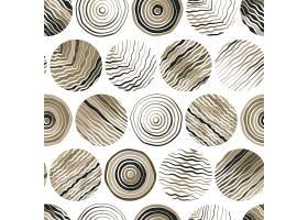 创意圆形抽象花纹矢量背景设计