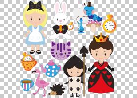 爱丽丝梦游仙境白兔皇室 - 爱丽丝PNG剪贴画幼儿,卡通,婴儿玩具,