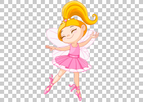 芭蕾舞演员童话,粉红色精灵PNG剪贴画摄影,小精灵,虚构人物,卡通,图片