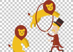 表演马戏团卡通小丑,手绘马戏团PNG剪贴画水彩画,杂项,简单,手,脊图片