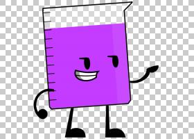 Beaker Fan小说,Beaker Pic PNG剪贴画紫色,文本,笑脸,卡通,品红