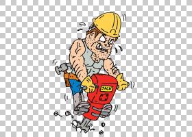 Jackhammer建筑工人股票摄影,土木工程PNG剪贴画服务,摄影,人,工