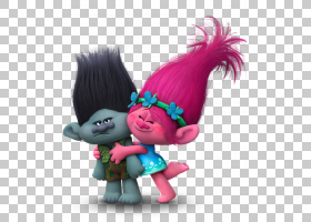 King Peppy DJ Suki Biggie Poppy DreamWorks动画,Trolls分支和P图片