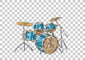 鼓乐器,手,画鼓PNG剪贴画水彩绘画,手,海报,生日快乐矢量图像,手