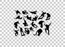 滑板欧几里德,滑板PNG剪贴画孩子,人,单色,男孩,生日快乐矢量图像