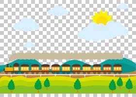 火车铁路运输Adobe Illustrator,驾驶火车PNG剪贴画海报,生日快乐