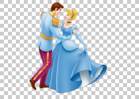 灰姑娘白马王子白雪公主,灰姑娘和王子,迪士尼灰姑娘PNG剪贴画图