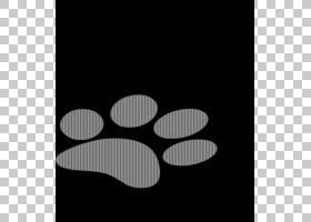 狗爪子,狗PNG剪贴画动物,单色,贴纸,卡通,鼻子,版税,黑色,封装Pos