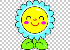 鲜花花束模具,鲜花微笑PNG剪贴画蓝色,人,向日葵,笑脸,卡通,花卉,