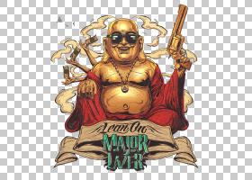佛教弥勒佛教,涂鸦佛PNG剪贴画漫画,我们男人,卡通,涂鸦边框,嘻哈图片