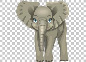儿童信学习字母表,卡通婴儿大象PNG剪贴画卡通人物,游戏,哺乳动物