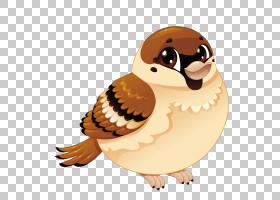 麻雀鸟卡通,小麻雀PNG剪贴画水彩画,动物,摄影,生日快乐矢量图像,