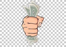 钱绘图皇室 - 股票摄影,持有美元动画手PNG剪贴画脸,手,摄影,头,